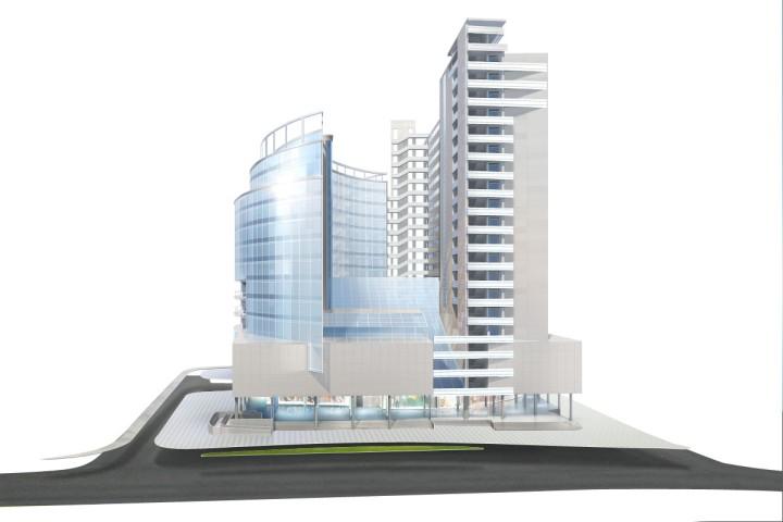 Планируется строительство нового бизнес-центра по улице Пушкина