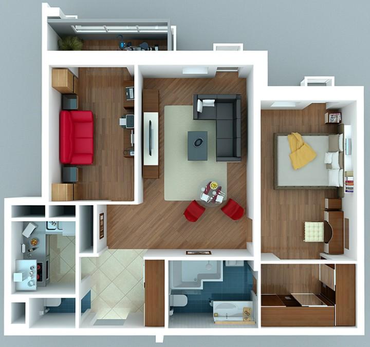 Трехкомнатные квартиры имеют малый спрос на современном рынке аренды
