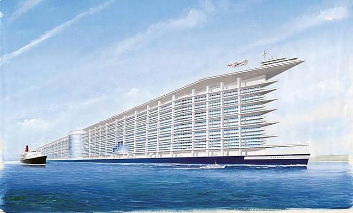 Идея постройки корабля нового поколения вновь возникла в США