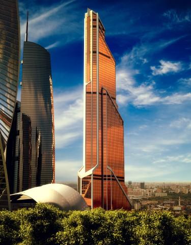 В Москве возвели самое высокое здание в Европе