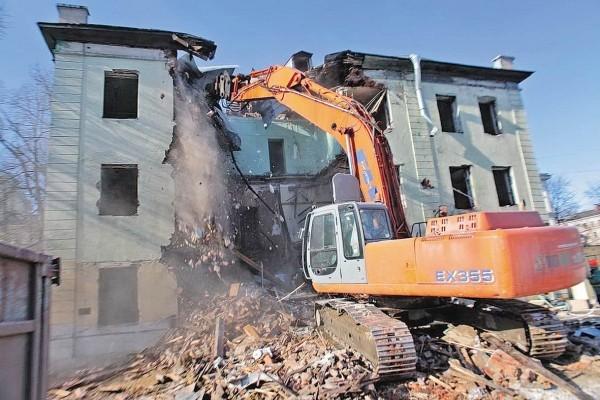 В Зеленодольске начинается снос аварийного жилья