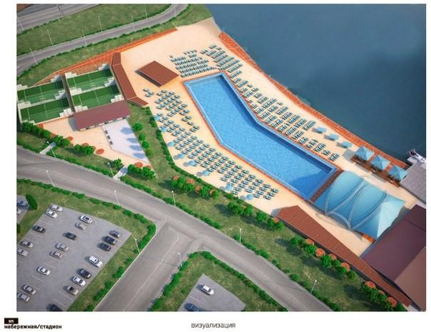 Быть ли бассейну на берегу Казанки?