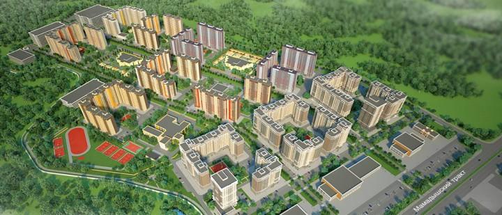 Новый казанский жилой комплекс