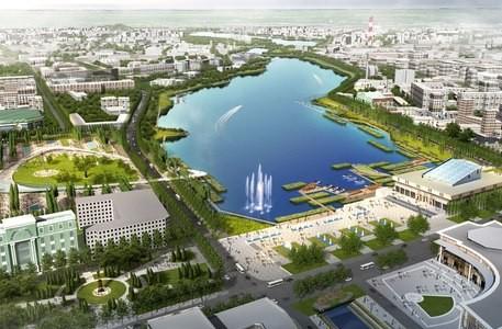 Набережную Кабана сделают по российско-китайскому проекту