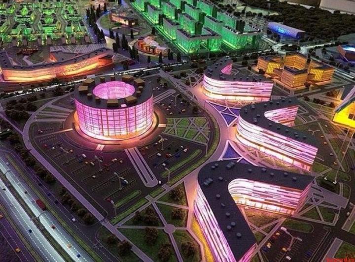 В Иннополисе построят 13-этажный торгово-развлекательный комплекс