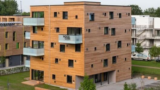 Проект деревянного многоквартирного дома