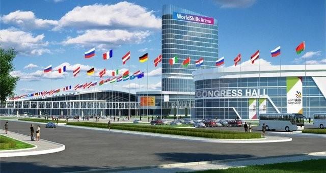 В Казани начато строительство комплекса WorldSkills 2019