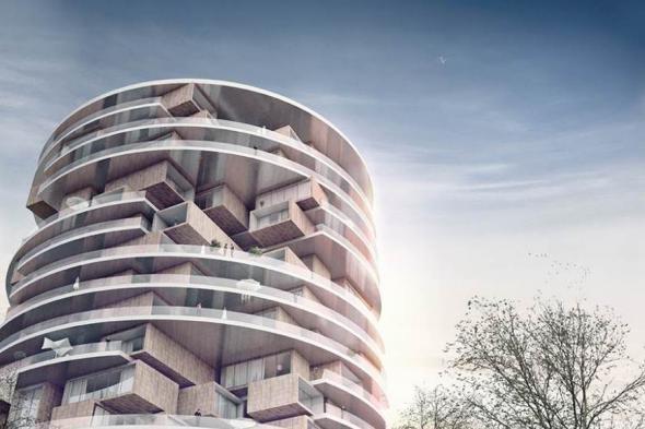Новый проект жилого здания в Иране