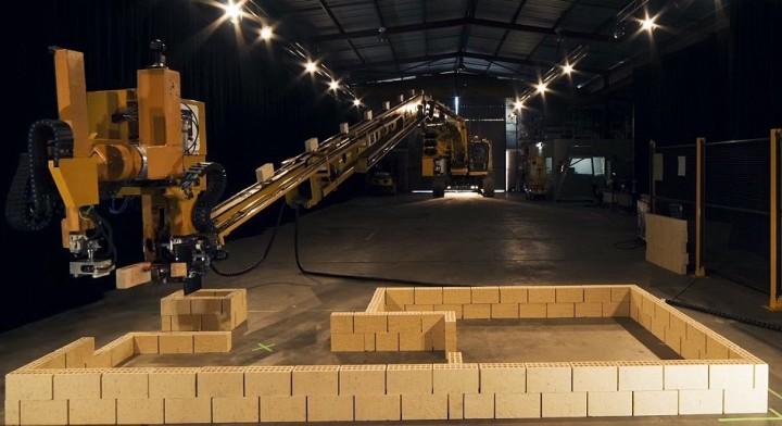 Робот-домострой заменит труд строителей в Австралии