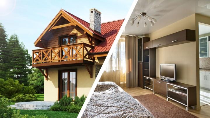 Две трети россиян мечтают жить в частных домах